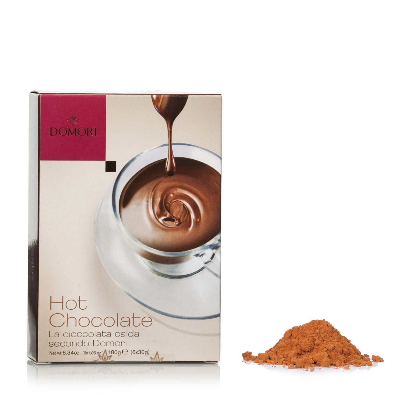 Domori Cioccolata Calda 6 bustine 30g