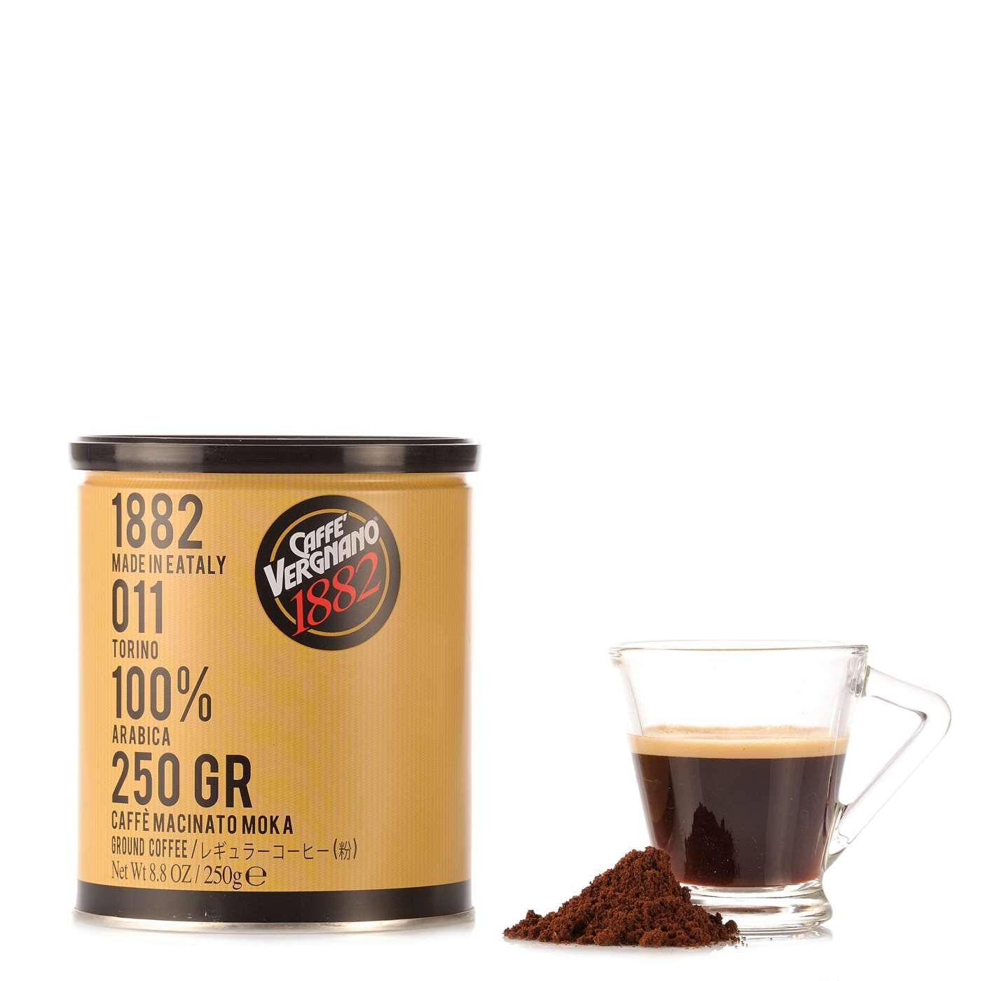 Vergnano Caffè 100% Arabica 250g