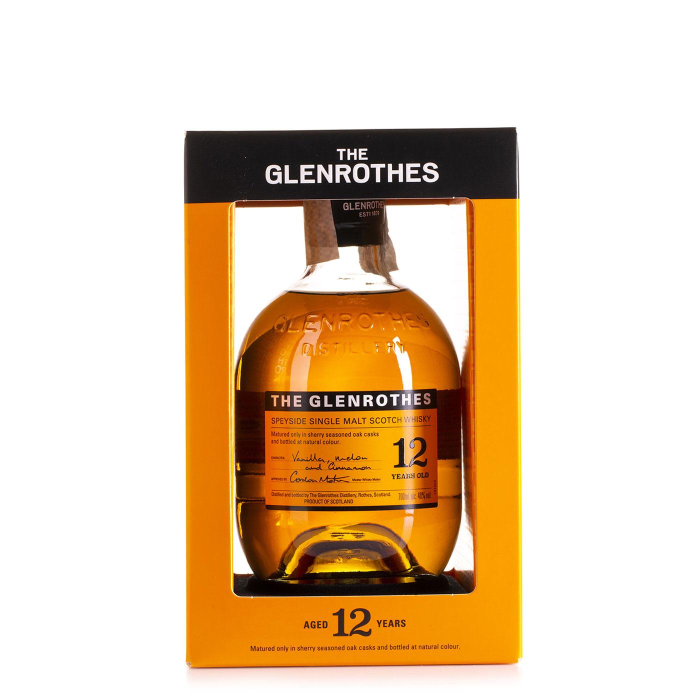 Glenrothes Speyside Single Malt Scotch Whisky 12 years old 0,70l