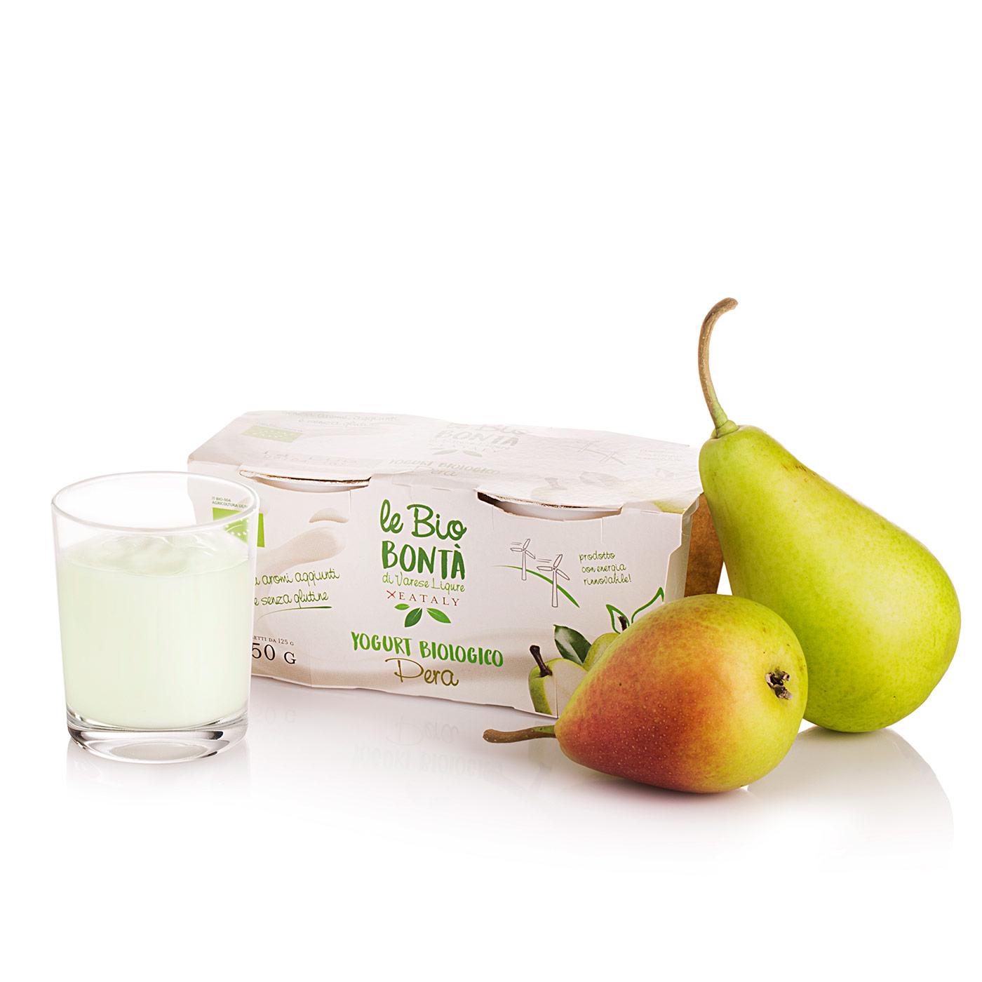 Bio Bontà x Eataly Yogurt Intero alla Pera Bio 2x125g