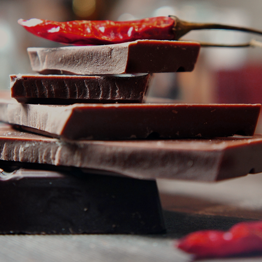 La cioccolata aromatizzata