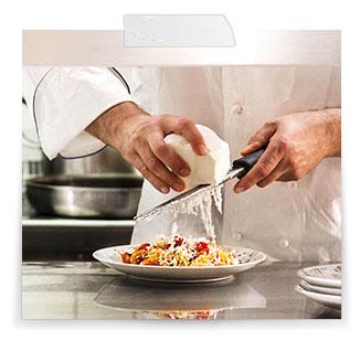 Il menu dello chef