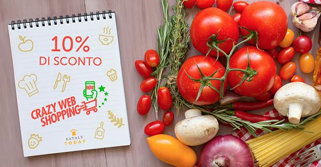 Promo Crazy Web Shopping - Per te uno sconto del 10% su tutto il catalogo: scopri come ottenerlo!