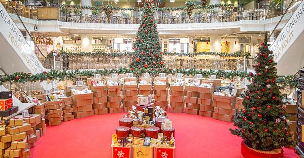 Regali e menu di Natale - A Natale siamo tutti più Eataly! Cesti natalizi, panettoni e...