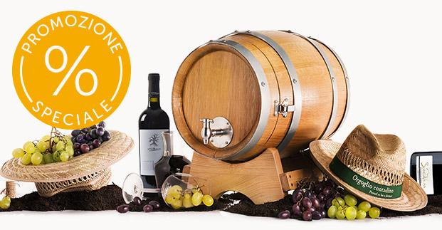 Speciale promozione Vino - Scopri come acquistare vini a un prezzo scontato.