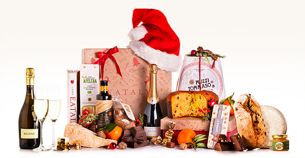 I cesti natalizi - Le confezioni regalo con il meglio dell'enogastronomia italiana.