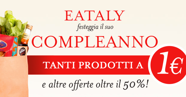 Festeggiamo a suon di offerte - Il meglio dell'enogastronomia italiana a prezzi imperdibili!