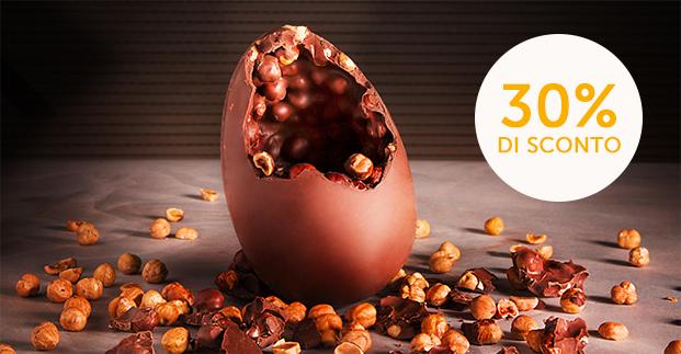 Le uova di cioccolato - Fondente, al latte, gianduja. Scegli le tue preferite!