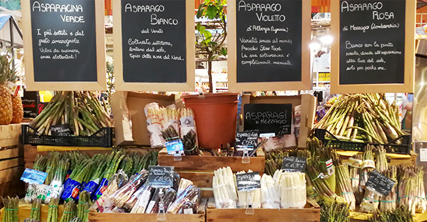 Mangiamo di stagione - Fave, asparagi, fiori di zucca... Scopri tutte le specialità di maggio.