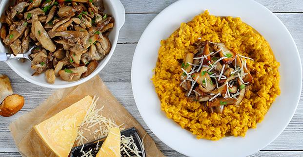 Mangiamo di stagione - Zucca, funghi porcini, castagne... tutte le specialità autunnali.