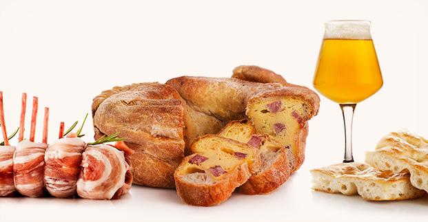 Prodotti tipici pasquali - Torta al formaggio, agnello, casatiello e tanto altro ancora.